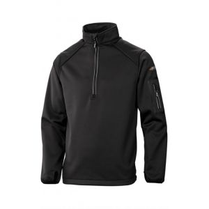 Толстовка Baffin Men's Half-Zip Black